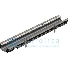 Лоток водоотводный Gidrolica Super ЛВ -10.14,5.08 - пластиковый, кл. Е600