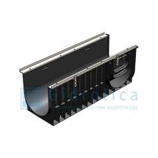 Лоток водоотводный Gidrolica Super ЛВ -30.38.39,6 - пластиковый, кл. Е600