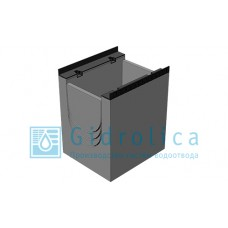 BGM пескоуловитель для тяжелых нагрузок DN300, 500/440/600, верхняя часть, с чугунной насадкой
