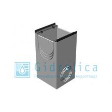 BGM пескоуловитель для тяжелых нагрузок DN400, 500/540/1000, односекционный, с чугунной насадкой
