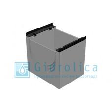 BGM пескоуловитель для тяжелых нагрузок DN500, 500/640/600, верхняя часть, с чугунной насадкой