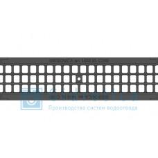 Решетка водоприемная Gidrolica Standart РВ -10.13,6.50 ячеистая чугунная ВЧ, кл. С250