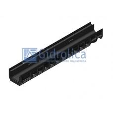 Лоток водоотводный Gidrolica Pro ЛВ-10.14,5.11,7 - пластиковый