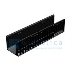 Лоток водоотводный Gidrolica Standart ЛВ-20.24,6.23,5 - пластиковый
