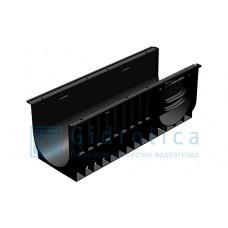 Лоток водоотводный Gidrolica Standart ЛВ-30.38.38 - пластиковый